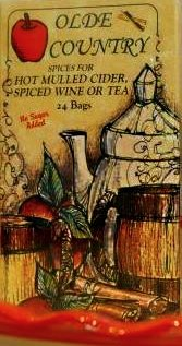 Olde Country Mulling Spices in Tea Bags, Box of 24