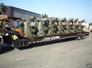 TRUCK LOAD OF BRIDGEPORTMILLING MACHINE