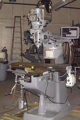 LATE MODEL RECONDITION VARI SPEED BRIDGEPORT MILLING MACHINE
