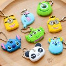 Kawaii Cartoon Animal Silicone Key Caps Head
