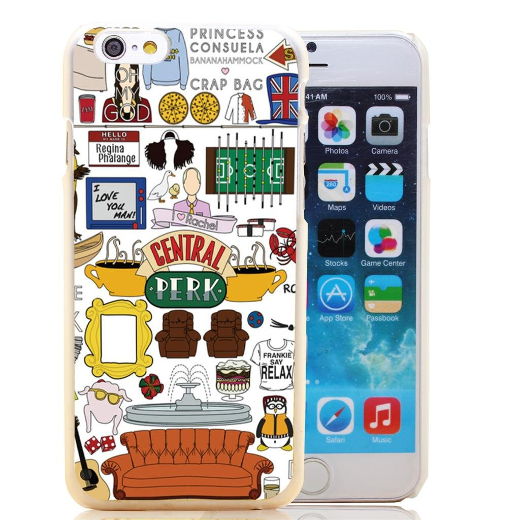 Friends Tv Show Central Perk Case for iPhone 4 5 6 6 plus