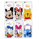 Soft TPU Case For Apple iPhone 4 4s  Cartoon Minnie Mickey Mouse Stitch Daisy Duck