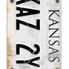 Supernatural License Plate KANSAS KAZ 2Y5 Case Cover for iPhone 4 4s 5 5s 5C 6 6 PLUS