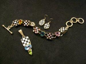 Checkered Bracelet by Charles Albert