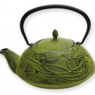 Green Prosperity Teapot (Five Elements)