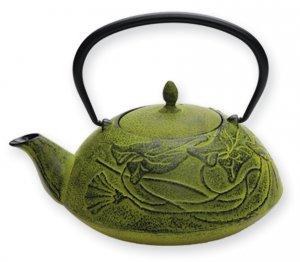 Green Prosperity Teapot (Five Elements)