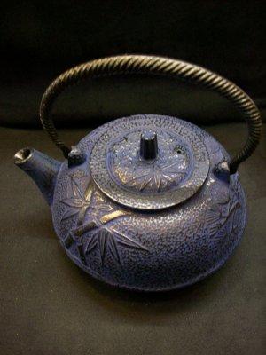 Blue Bamboo Teapot (Five Elements)