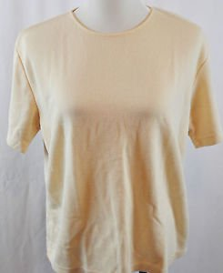 Sag Harbor Short Sleeve Blouse. Size Large