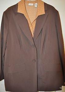 Covington three piece suit size 18w NWT