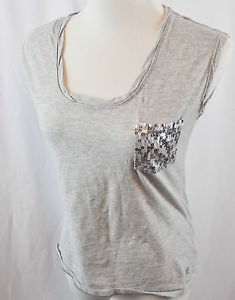 Aeropostale Gray Sleeveless Shirt Size Medium