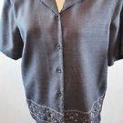 Alfred  Dunner Short Sleeve Shirt Set
