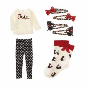 Glamour Kitty 4 pc LOT-NWT's-Size 3