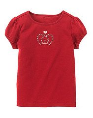 School girls Rocks Tiara Tee size 5