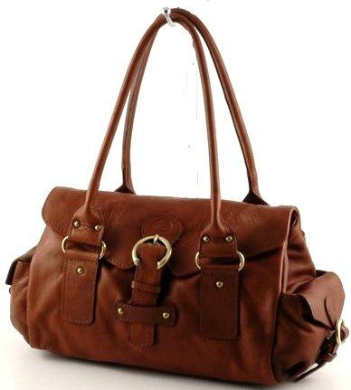 """alice"" Italian Leather Shoulderbag"