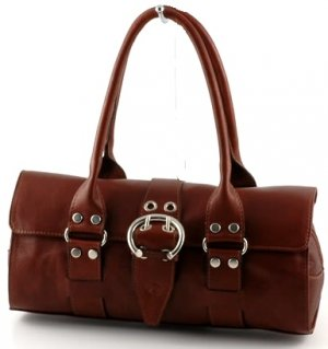 """amanda"" Italian Leather Shoulderbag"