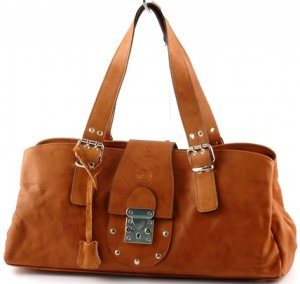 """sandra"" Italian Leather Shoulderbag"