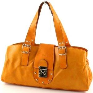 """sandra: Italian Leather Shoulderbag"