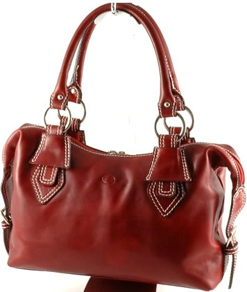 """anastasia"" Italian Leather Handbag"
