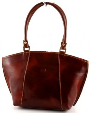 """chiara"" Italian Leather Tote"