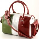 """marta"" Italian Leather Boston Bag"