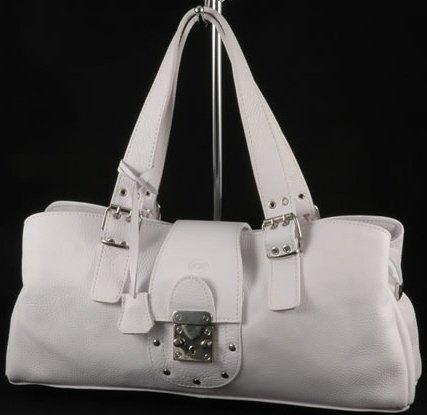 """sandra"" Italian Leather Handbag"