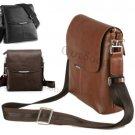 Men's Retro Genuine Leather Handbag Briefcase Laptop Shoulder Messenger Bag