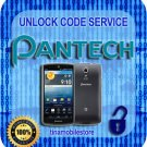 Pantech Unlock code Discover P9090 Laser P9050 Crossover P8000 + More 69 Models