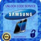 BELL CANADA Samsung Galaxy S6 S7 EGDE NOTE  J1 J3  Unlock Code