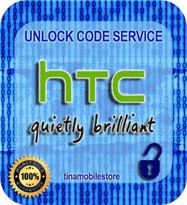 T-MOBILE HTC ONE X S V M7 M8 DESIRE 601 510 320 Inspire Desire 8X 8S Unlock Code