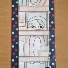 Handmade 'Bookworm' Bookmark