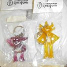 2002 Korea-Japan World Cup Set of 2 mascot keychains