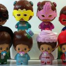 ASIA 2016 McDonald's Happy Meal Toys Monchhichi set of 8 Figures