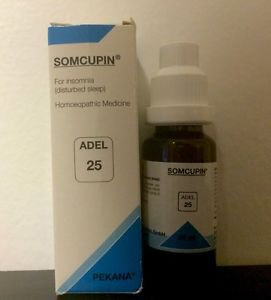 Adel Homeopathy Germany Drops 25 - For Insomnia (disturbed Sleep)