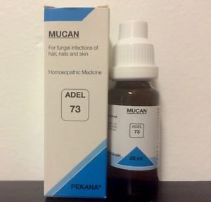 Adel Homeopathy Germany Drops 73 - For Fungal Infections Of Hair Nails And Skin