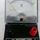 3x GALVANOMETER Educational Desk Stand Meter Test Equipment