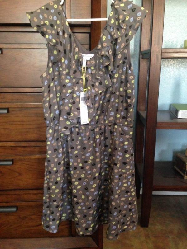 BCBGeneration NWT Ruffled Dress Size L
