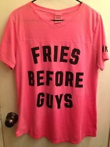 Victoria's Secret PINK Graphic T-shirt Size L