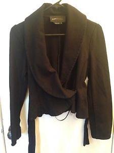 BCBG Maxazria Black Blazer Size S