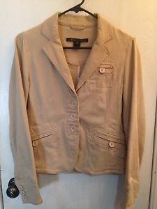 Marc by Marc Jacobs Beige Jacket Size 6