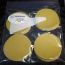 "3"" hook and loop aluminium oxide 800 grit sanding discs pack of 25 discs"