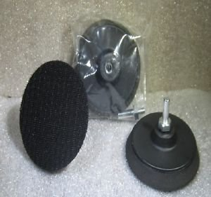 "Pack of 3 - 3"" Velcro backing pads, ideal for restoring headlights"