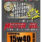 Cerma X 5qt.15W40motor oil with STM3 & 2oz diesel1to2.8 Ltr engine treatment