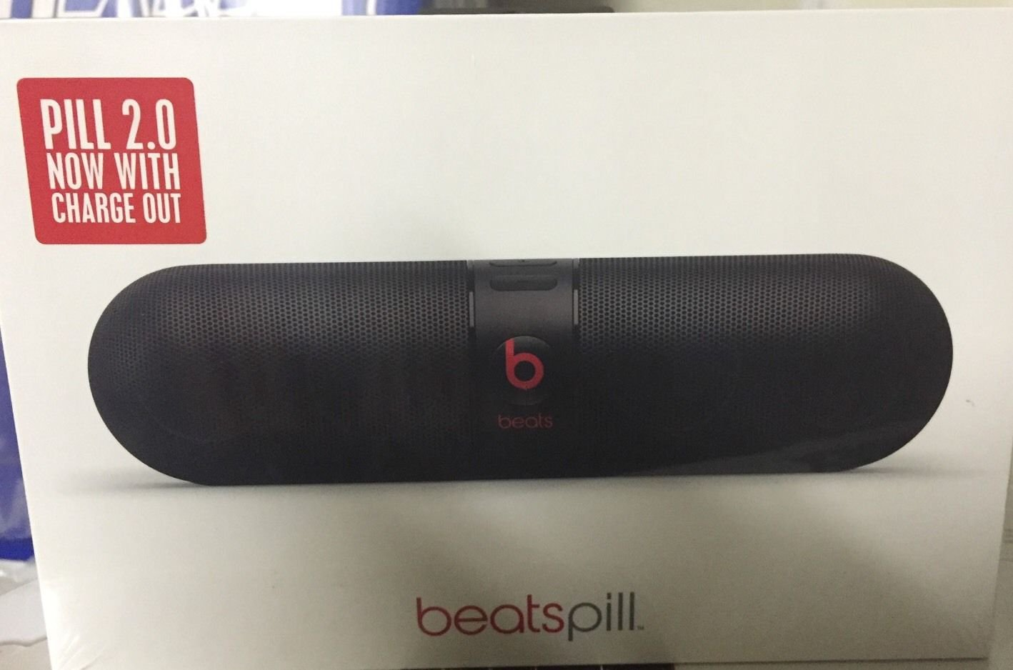 Beats Pill 2.0 By Dr. Dre Wireless Bluetooth Speaker Black (Factory Sealed/New)