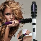 Latest 4-in-1 Ionic Hair Styler Hot Brush Ceramic Flat Iron with Cool Touch Protective Technology