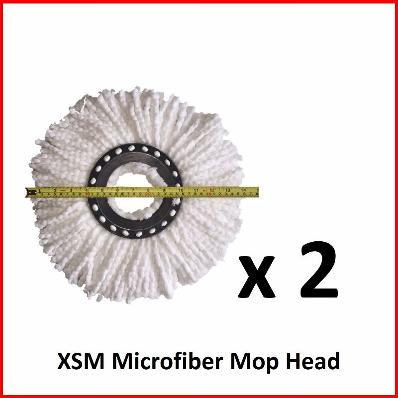 Microfiber Mop Head (2 pieces)