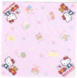 Japan Sanrio Hello Kitty with toys memos