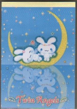 JAPAN SAN-X Twin Angels Rabbit Notepad KAWAII