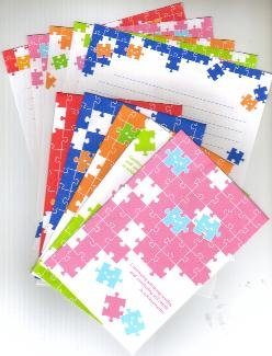 Japan Cru-x Happy Puzzle Lettersets
