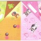 Japan Cru-x Puppy & Kitten Sleeping Folding Memo