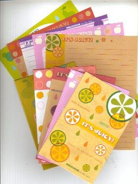 Japan Cru-x It's Juicy Lettersets